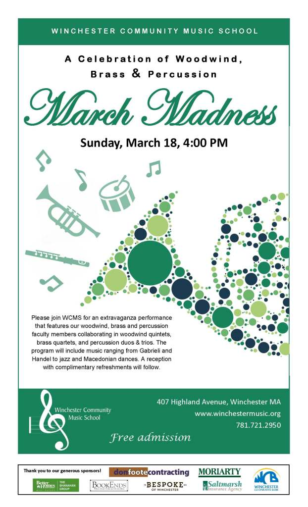 March Madness WBP concert 2018
